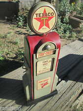 TEXACO FIRE CHIEF GAS PUMP Display VINTAGE Look Station Pump oil gas man cave