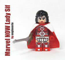 LEGO Custom -- Lady Sif -- Marvel NOW super heroes mini figure thor ironman