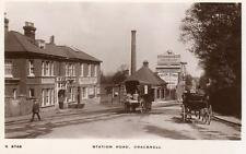 Station Road Bracknell Horse & Cart Station Hotel Pub unused RP pc WHS Kingsway