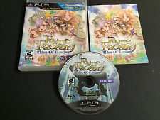 Rune Factory: Tides of Destiny (Sony PlayStation 3, 2011) complete