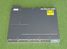 CISCO Catalyst WS-C3750X-48PF-S 48-Port Gigabit PoE Switch w/ C3KX-NM-10G Module