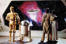 R2D2 Star Wars  Huge wall Poster  22 INCH x 34 INCH ( Fast Shipping )