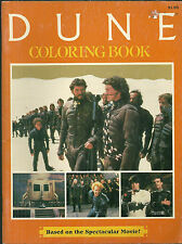 OOP Rare Coloring Book  DUNE - David Lynch - Sting - $60+ online - FREE Shipping