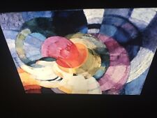 "Fernand Kupka ""Disks Of Newton"" Czech Expressionist Art 35mm Slide"