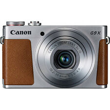 "Canon PowerShot G9 X Digital Camera w/ 3x Optical Zoom, Wi-Fi, 3"" LCD - Silver"