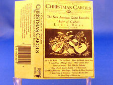NEW AMERICAN GUITAR ENSEMBLE - Favorite Christmas Carols - EXCELLENT CONDITION