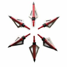6 Frecce ARCHERY Broadheads arco Compound Recurve Bow release
