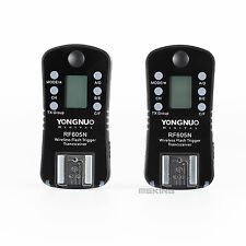 YONGNUO RF605N Flash Trigger speedlite set wireless with LCD for Nikon cameras