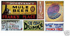 N Scale Food & Beverage Building / Structure Decals #2