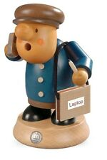 Mueller Traditional German Wooden Smoker Rauchermann Incense Burner Business Man