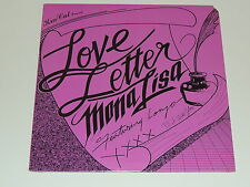 "LOVE LETTER BY MONA LISA FEATURING LONZO 12"" RECORD SEALED"