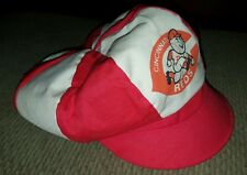 VINTAGE 1970s CINCINNATI REDS DISCO SUPER FLY HAT,NEVER WORN,ONE SIZE FITS MOST.