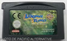 jeu les LOONEY TUNES Passent à l'action back in nintendo game boy advance GBA