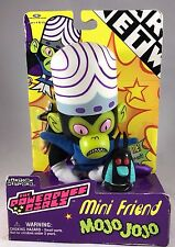 NIB 1999 Cartoon Network Powerpuff Girls Mini Friend MoJo JoJo Figure (P30)
