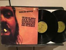 GRAHAM BOND~SOLID BOND~ORIG 1970 GREEN LBL 2LP~CREAM~MCLAUGHLIN~PSYCH BLUES ROCK