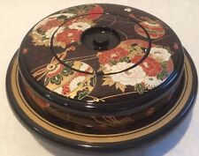 Japanese Bento Box for picnic/party Multi Compartment.  Rotates