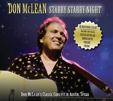 DON MCLEAN New Sealed 2017 LIVE AUSTIN TEXAS CONCERT 2 CD SET