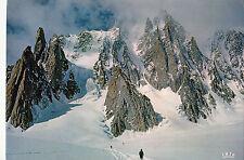 BF25394 chamonix mont blanc de gauche a droite  france front/back image