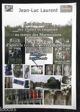 Le Calice noir - Ballestrini - JL Laurent -  crimes et enquêtes temps Marmousets