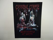 CANNIBAL CORPSE BUTCHERED AT BIRTH BACK PATCH