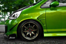Front fenders with gills on the Honda fit/jazz GD