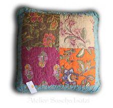 Clayre & Eef Quilt Patchwork Kissen Orient Asien Orientalisch 40cm x 40cm