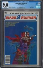 Marvel Super Special #22 CGC 9.8 White Pages Blade Runner Highest Graded Copy