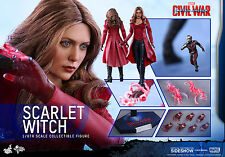 Sideshow Hot Toys Captain America 3 SCARLET WITCH 1/6 Scale Figure FREE SHIPPING