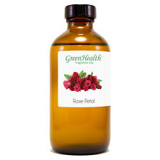 8 fl oz Rose Petals Fragrance Oil (Glass Bottle) - GreenHealth