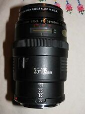 Canon Zoom Lens EF MACRO  35-105mm  f/3.5-4.5 manual / auto focus