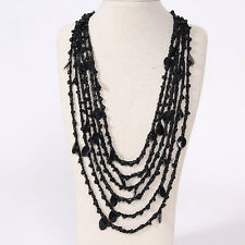Free shipping Bohemia Multilayer Necklace Pendant Long Sweater Charms Chain ZE1