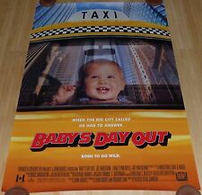BABY'S DAY OUT 1994 ORIGINAL ROLLED DS 1 SHEET MOVIE POSTER JOHN HUGHES