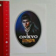 Autocollant/sticker: ONKYO INTEGRA High Fidelity (180616156)