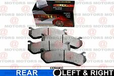 For Jeep Grand Cherokee 2005 To 2010 Rear Left Right Brake Pads New CD1087