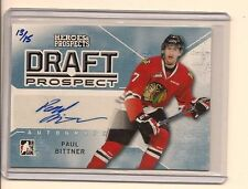 PAUL BITTNER 2014-15 ITG HEROES & PROSPECTS DRAFT PROSPECT AUTO /15