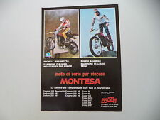advertising Pubblicità 1978 MONTESA CAPPRA 250 VB e MICHELE MAGAROTTO/ADAMOLI