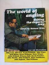 The World of Angling - Richard Wills 1973 Fishing Book HB DJ 100 Illustrations
