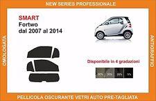 pellicola oscurante vetri pre tagliata smart fortwo dal 2007-2014 kit completo