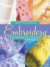 Embroidery: Techniques & Patterns, Place des Editeurs, Bayard, Marie-Noelle, Goo