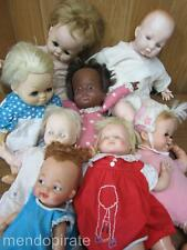 Vintage Lot 8 Dolls for Repair Baby Chatty Patty Playful Hanna Barbara Alexander