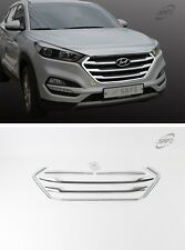 SAFE Chrome Radiator Grille Molding 5Pcs For HYUNDAI All New Tucson ix35 2016