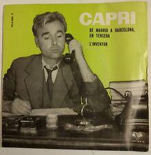 """Capri l'Inventor Single 7"""" edición original del año 1962"""
