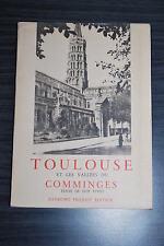 Toulouse et les vallées du Comminges - Guy Vivet - Raymond Picquot éditeur