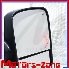 07-13 Silverado Tahoe Pickup Towing Mirrors power Heated LED Signal Pair