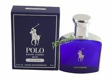Polo Blue by Ralph Lauren For Men 2.5 oz Eau de Perfume 2.5 oz 75 ml Spray New