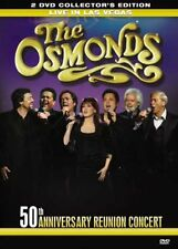 The Osmonds - Live In Las Vegas (DVD, 2008, 2-Disc Set) ^ dispatch in 24 hours