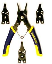 Irwin Vise-Grip, 4 Piece, Convertible Snap Ring Pliers