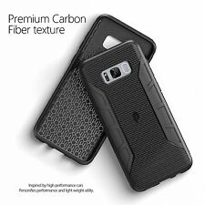 Poetic Karbon Black Case [Carbon Fiber Texture] For Samsung Galaxy S8 Case