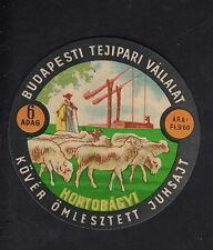 Ancienne  étiquette Fromage  Hongrie  BN10348 Berge Mouton 5