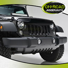07-16 Jeep Wrangler JK Gloss Black Angry Bird Grille Grill Shell Replacement